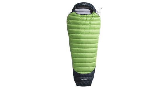 Nordisk Celsius Lite mummy slaapzak +4°, xl size groen/zwart